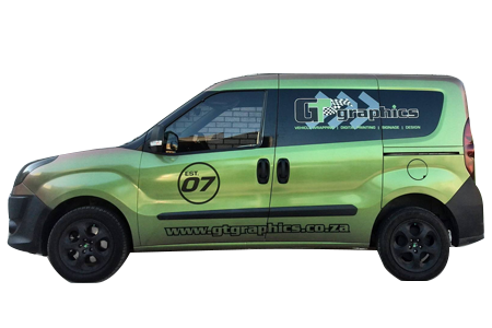 GT Graphics Van